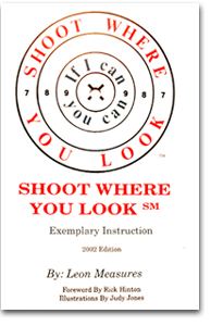 Shoot Where You Look Book Cover